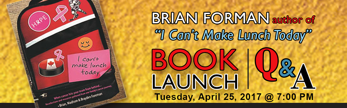 Brian Foreman Book Launch / Q & A
