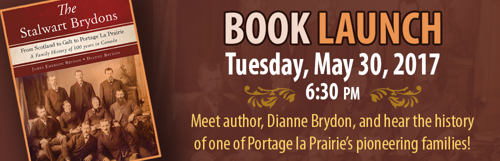 The Stalwart Brydons Book Launch - May 30 @ 6:30 p.m.