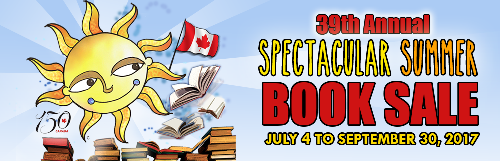 BOOK SALE 2017!!! Starting July 4!