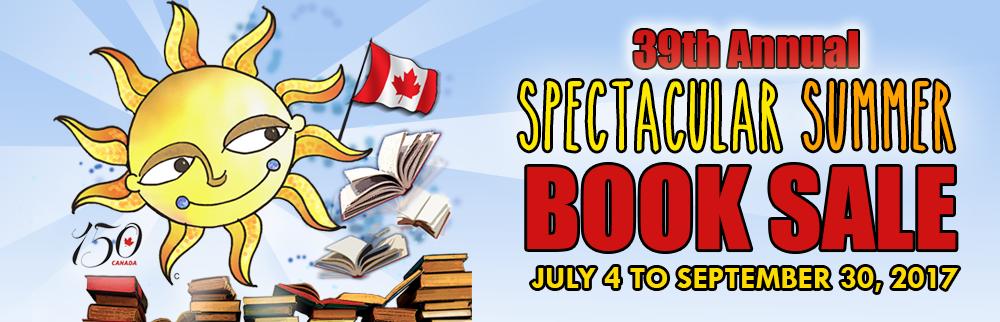 BOOK SALE 2017!!! Starting July 4!