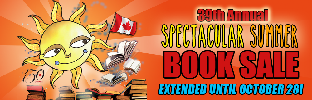 39th Annual Book Sale! EXTENDED until October 28!
