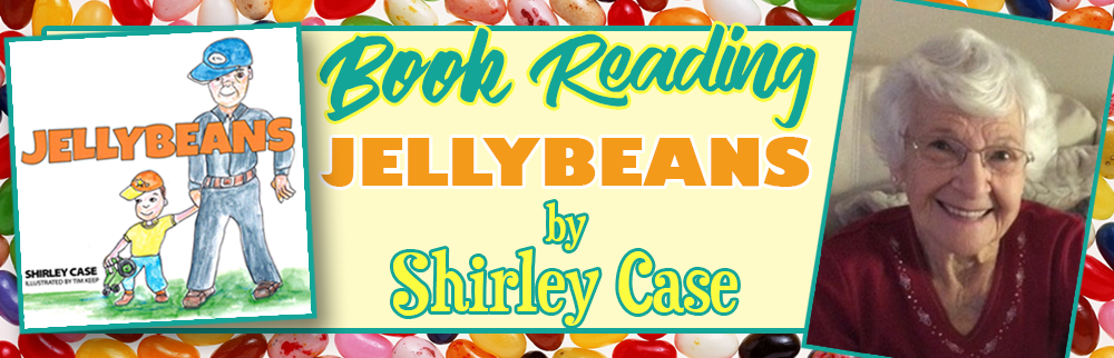 Shirley Case Book Reading - May 30th!