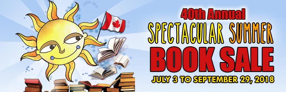 Summer Book Sale 2018!- NEW CATEGORIES Starting September 1st!