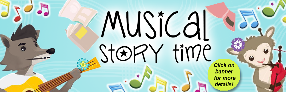 Join us for Musical Story Time in October!