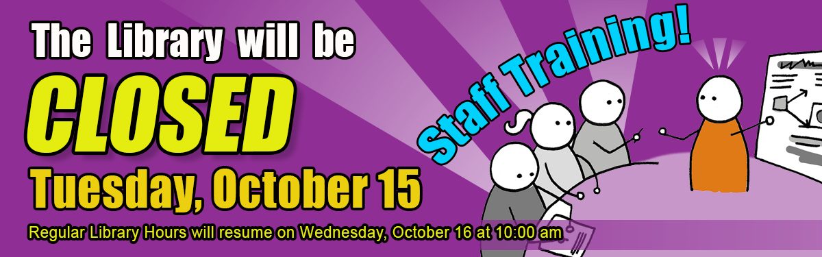 Training Day! Tuesday, October 15th