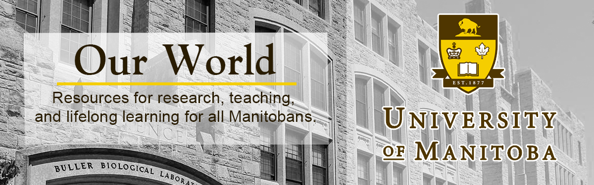 Welcome to 'Our World', a research, learning, and teaching portal.