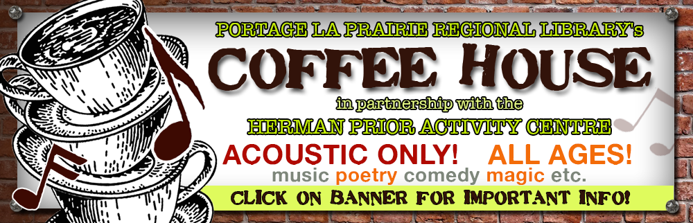 Coffee House -  October 24th !