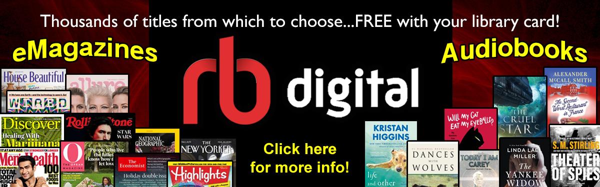 Yay! FREE Magazines & Audiobooks