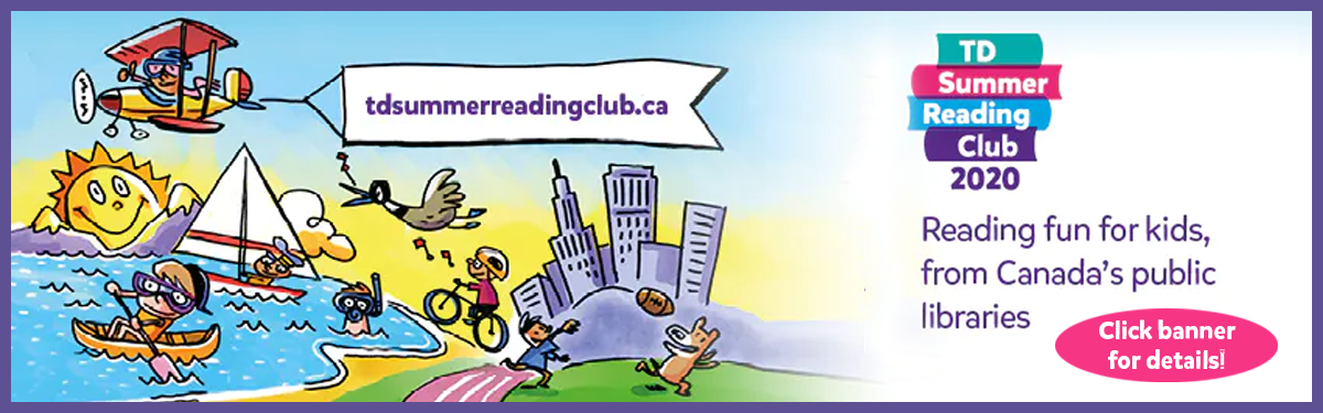 TD Summer Reading Club 2020- Online - Starts June 15th