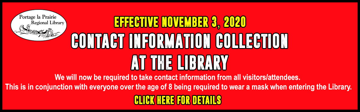 Contact Information Collection Requirement Effective November 3, 2020