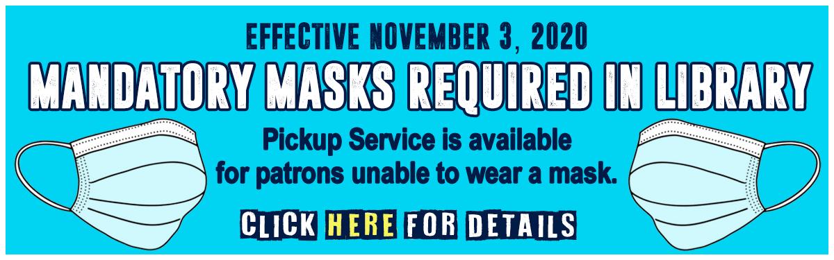 Pickup Service - Effective November 3, 2020