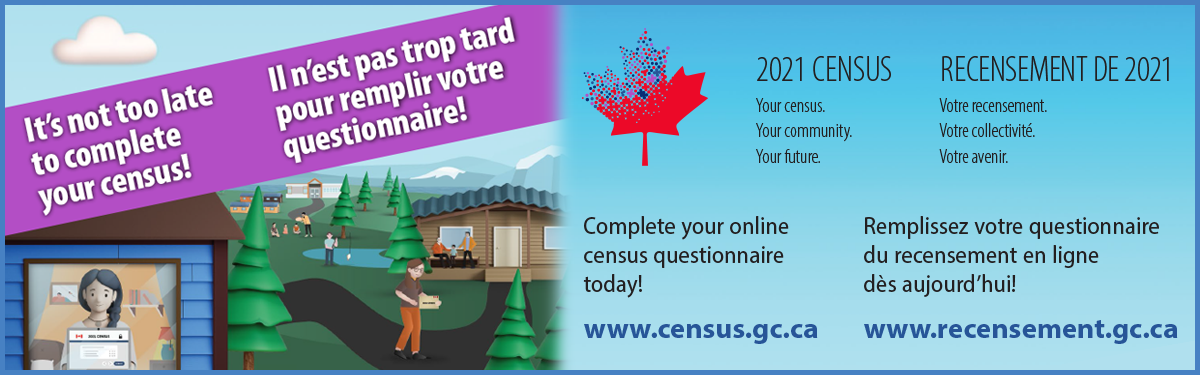 It's not too lake to complete your census!
